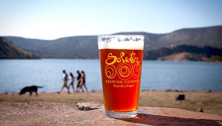 Prineville Reservoir, Solstice Brewery