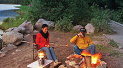 Camping in the Ochoco Forest
