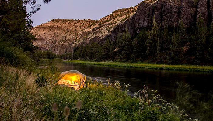 Prineville OR Camping, Longhorn Ridge